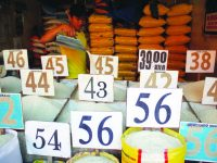 Farm-gate prices of Rice