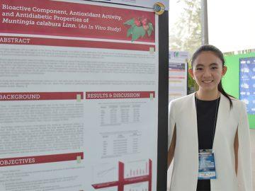 Filipina student scientist