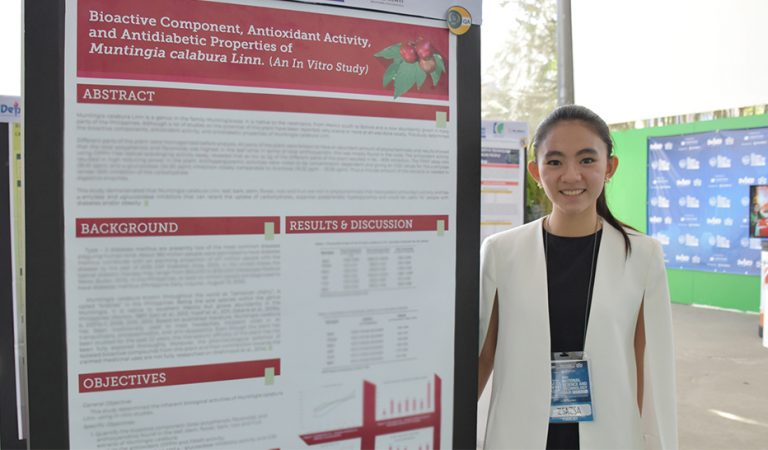 Filipina Student Scientist Discovers Prevention for Type 2 Diabetes