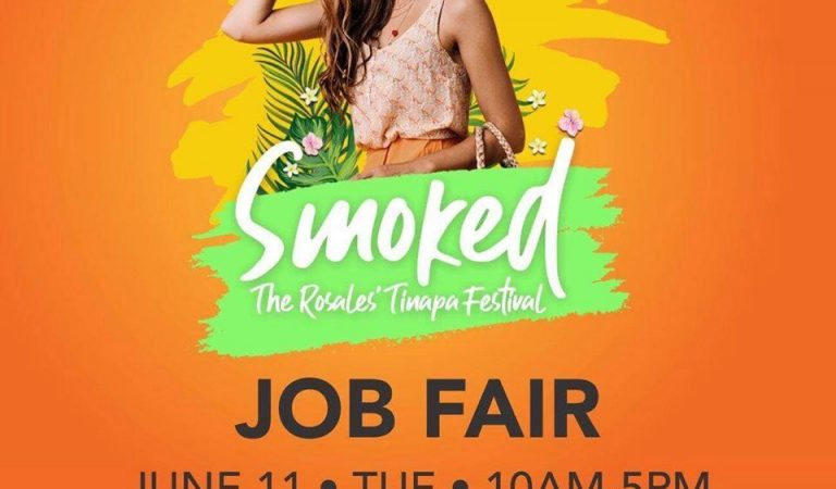 The Rosales' Tinapa Festival Job Fair