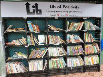 Street library in Davao City