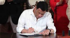 Duterte signed Philippine Innovation Act