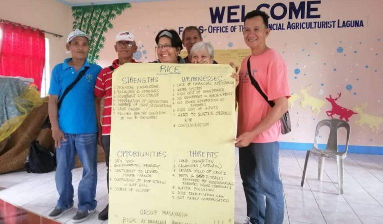 Laguna Farmers Undergone Organic Farming Training