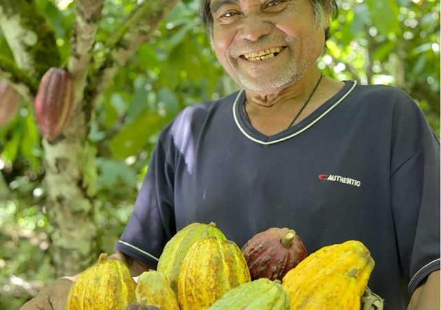 Filipino Farmer, as one of the World's Best Cocoa Producers