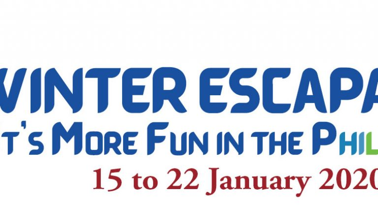 Consul General Zaldy Patron launches Winter Escapade 7 (January 15-22, 2020)