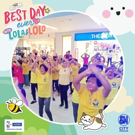 Best Day Ever with Lolo and Lola: Grandparents Day 2019 Celebration at SM City Rosales