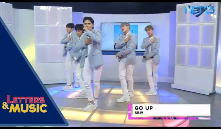 [Live] Go Up! – SB19 (NET25 Letters and Music)