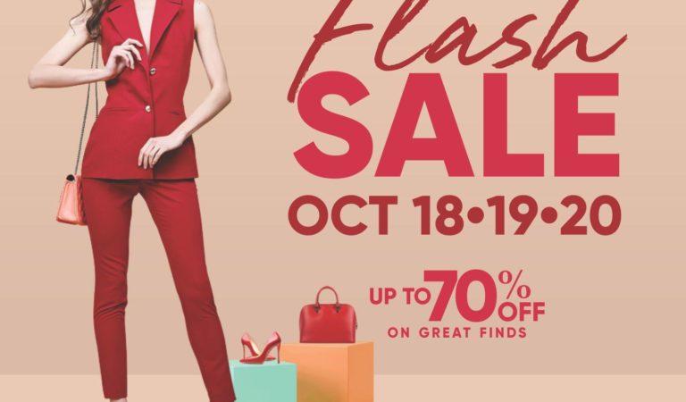 SM City Rosales Flash Sale: October 18, 19, 20, 2019