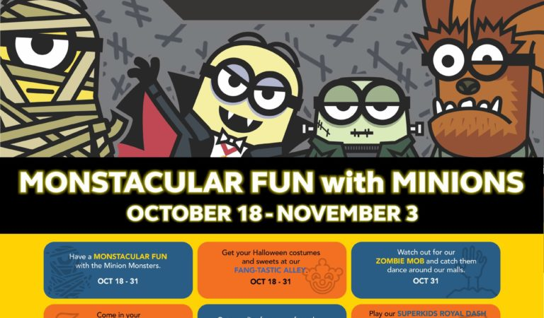 SM City Rosales: Monstacular Fun with Minions