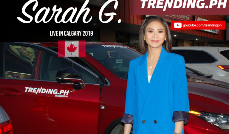 Watch Sarah Geronimo's Live in Calgary Concert 2019