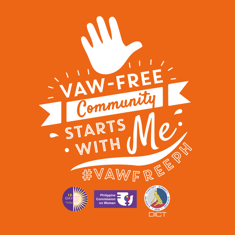 DICT joins the Campaign to End Violence Against Women (VAW) #VAWFreeDICT
