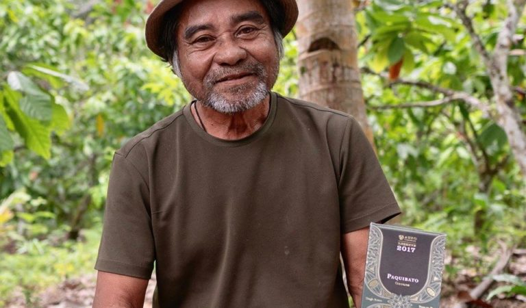 Cacao farmer in Davao won International Award in Paris