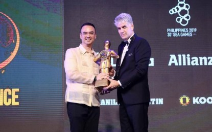 PHL received special excellence award