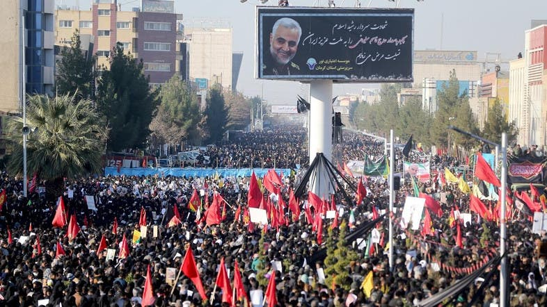 Photo: english.alarabiya.net/en/News/world/2020/01/08/Iranian-American-activist-outraged-by-propaganda-machine-glorifying-Soleimani.html