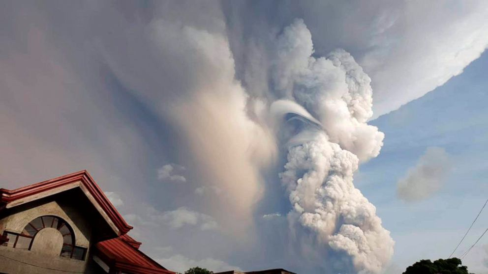 Photo: abcnews.go.com/Technology/wireStory/tiny-philippine-volcano-ejects-smoke-ash-villagers-flee-68226759