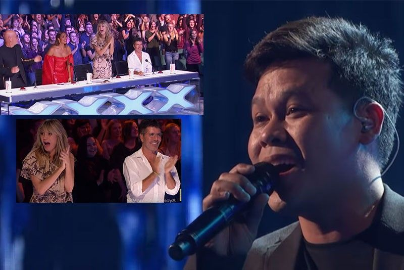 Marcelito Pomoy pasok sa Semi-finals ng America's Got Talent: The Champions 2020