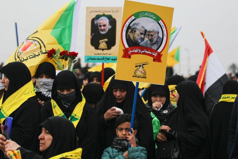 Photo: straitstimes.com/world/middle-east/hezbollah-official-says-response-of-axis-of-resistance-to-soleimani-killing-will