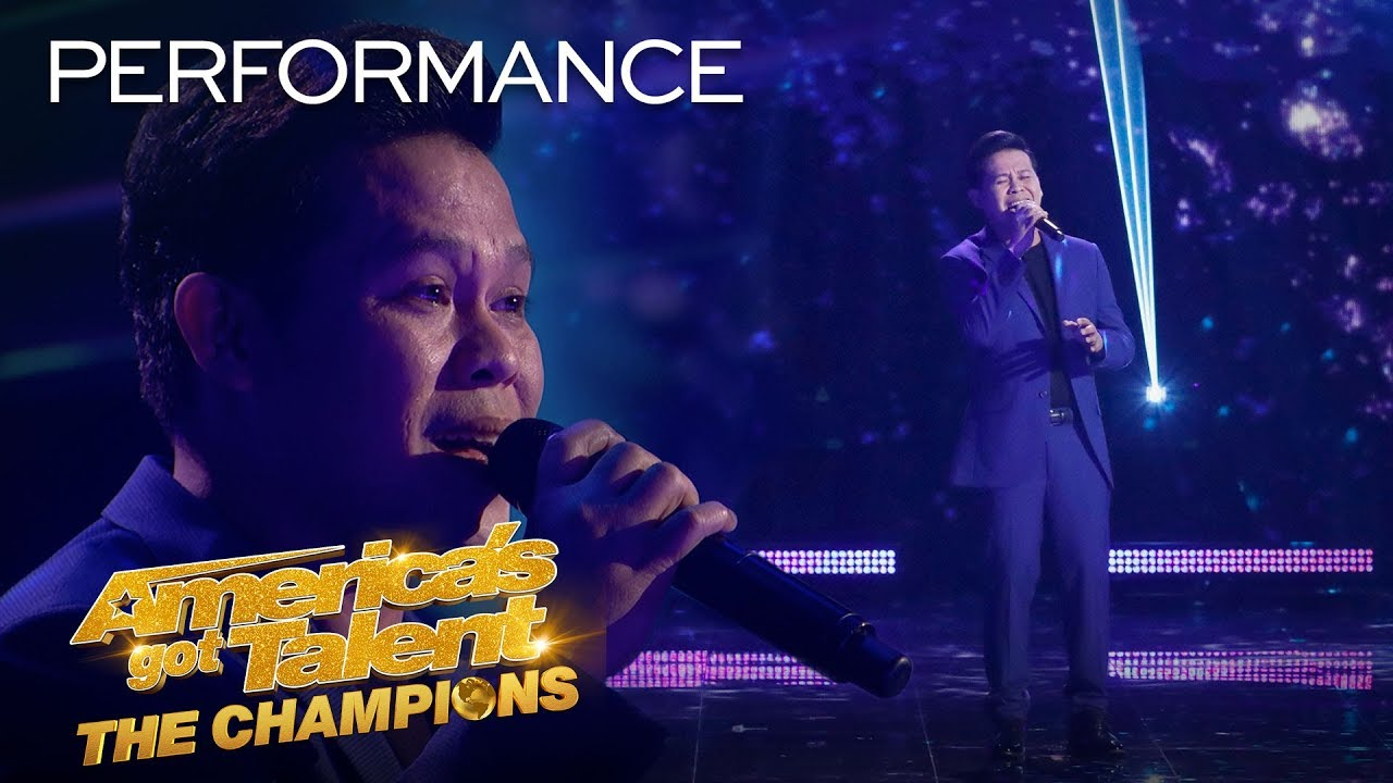 "Marcelito Pomoy Sings ""Beauty And The Beast"" Grand Finals Performance – AGT: The Champions 2020"