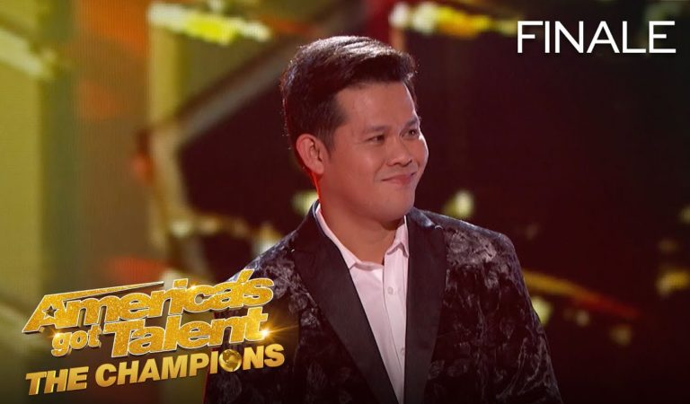 Marcelito Pomoy Wins 4th Place On AGT: The Champions 2020