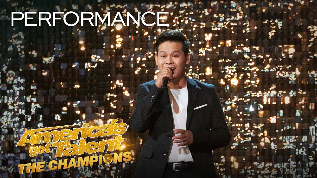 Marcelito Pomoy's Semifinals Performance – AGT: The Champions 2020