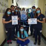 SM FOUNDATION INC最近向碧瑶综合医院医疗中心捐赠了医疗用品。医疗用品包括N口罩外科口罩酒精PPE防护镜雨衣丁腈手套鞋套和ICU级呼吸机