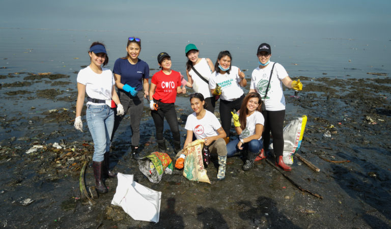 The Body Shop's Coastal Clean-up with Planet CORA