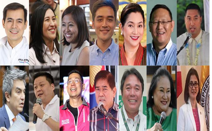 投票谁是马尼拉大都会区最佳市长