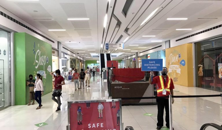 Safe Malling is a priority as SM Pangasinan Malls open