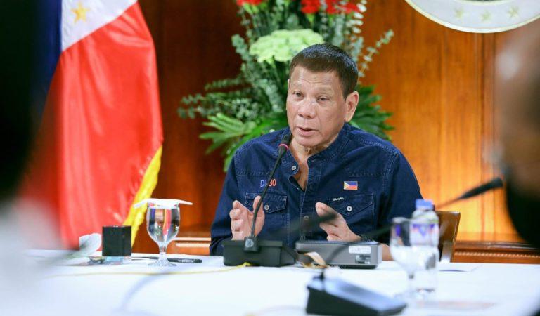Full Transcript: President Duterte's COVID-19 Update