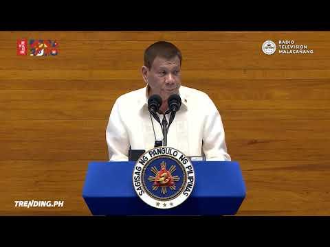 President Rodrigo Duterte's State of the Nation Address #DuterteSONA2020