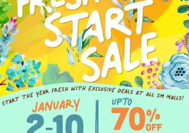 SM Center Dagupan's Fresh Start Sale