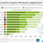 Photo: statista.com/chart/19473/attitudes-towards-recreational-marijuana-legalization-and-medical-marijuana-in-different-countries/