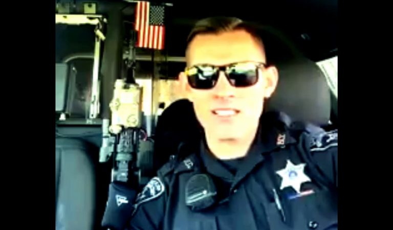 Police Officer Michael Zinni Speaks Out Against Constitutional Rights Violation