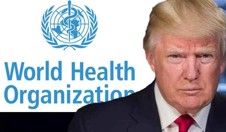 Pres. Trump Announced the US is Cutting Ties with the WHO over COVID-19; is He Playing Dumb?