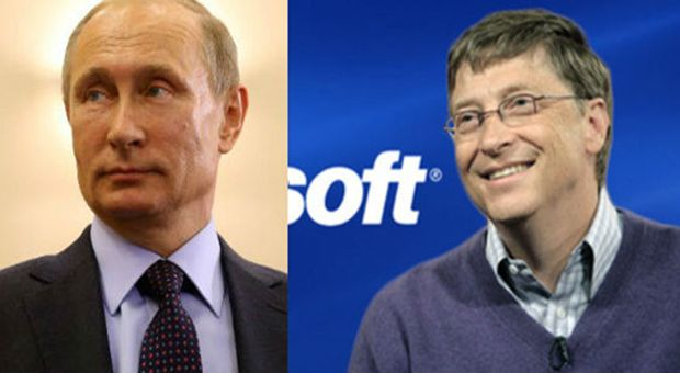 Did Putin Banned Bill Gates and the Microsoft Corporation in Russia?